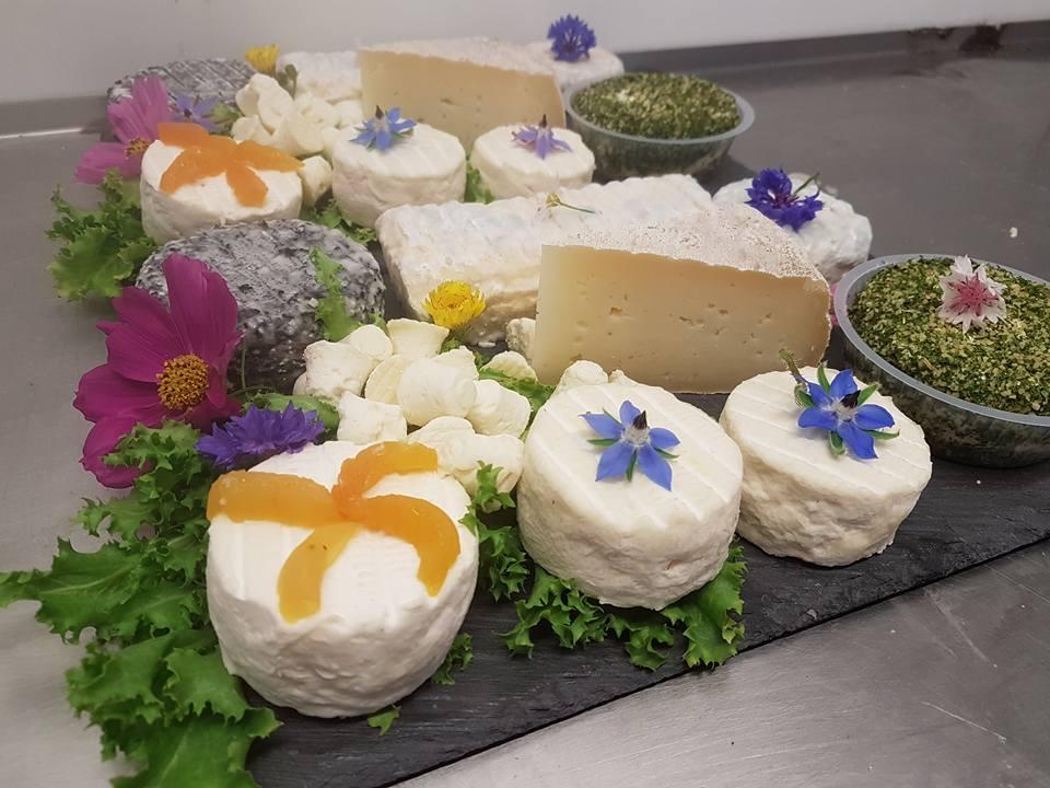 plateau fromage GAEC Moulin des chartreux